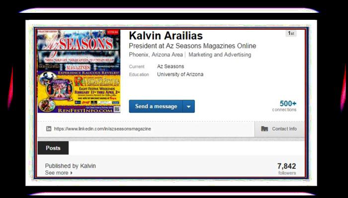 LinkedIn #linkedin #kalvinarailias